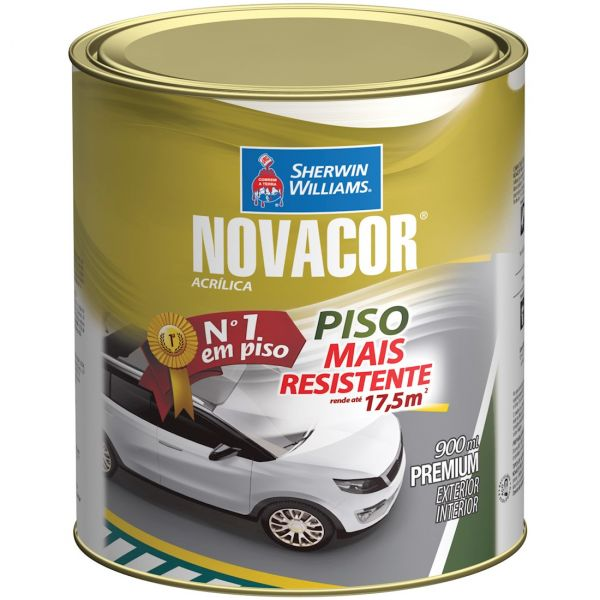 Tinta Piso Azul 900ml - Novacor