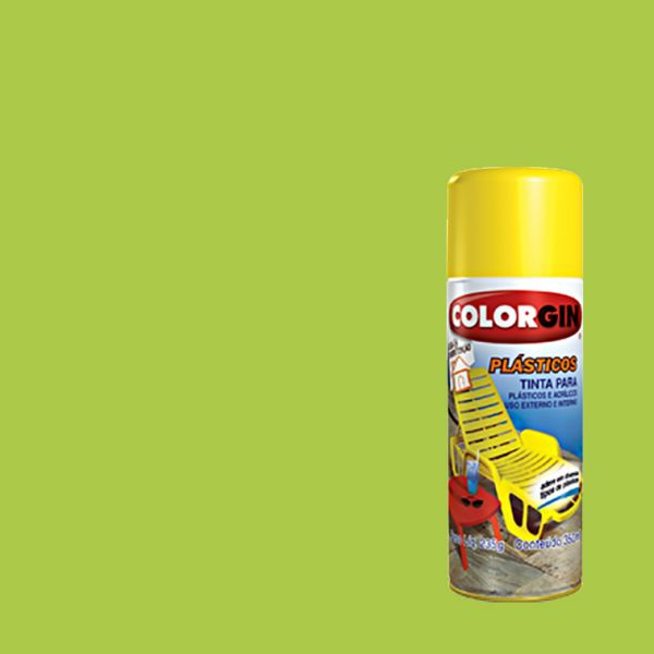 Spray Plásticos Colorgin Verde Abacate 350ML