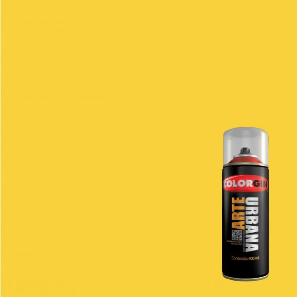 Tinta Spray Fosco Arte Urbana Eldorado 400ml - Colorgin