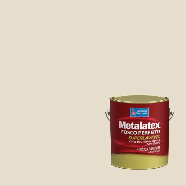Tinta Acrílica Fosco Metalatex Palha 3.6L - Sherwin Williams