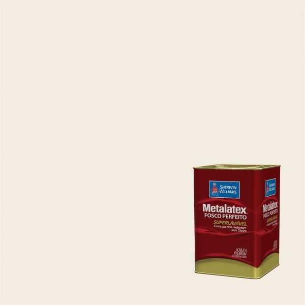Tinta Acrílica Fosco Metalatex Palha 18L - Sherwin Williams