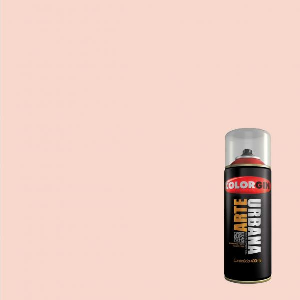 Tinta Spray Fosco Arte Urbana Rosa Blush 400ml - Colorgin
