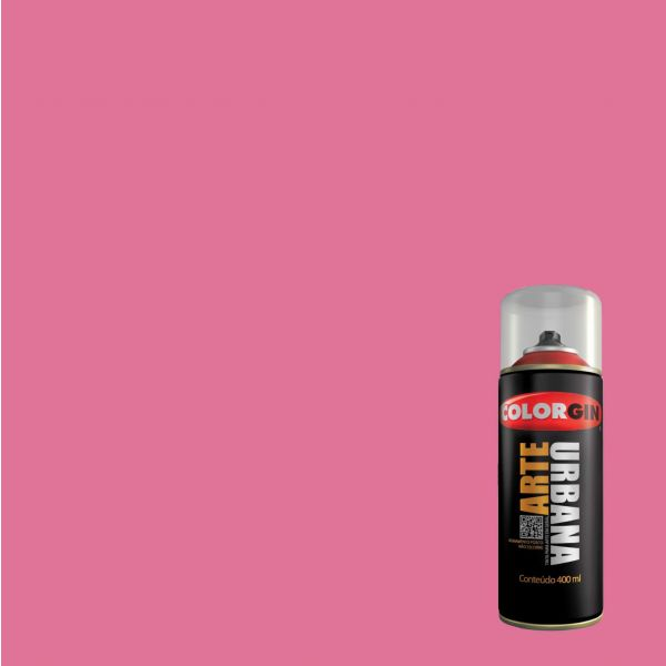 Tinta Spray Fosco Arte Urbana Rosa Lirio 400ml - Colorgin