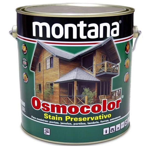 Osmocolor Stain Nogueira 3.6L - Montana