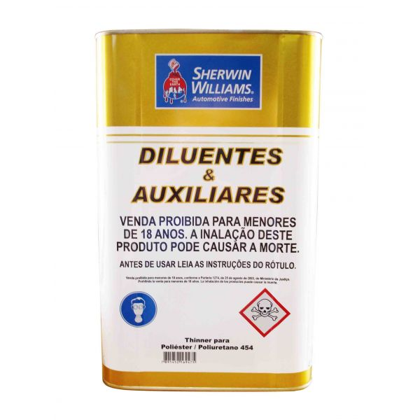Thinner 454 Para Poliester e Pu 5L - Lazzuril