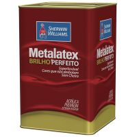 Tinta Acrílica Fosco Metalatex Branco S/B 18L - Sherwin Williams
